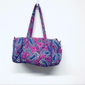 Vera Bradley Small Iconic Duffle Bag Boysenberry
